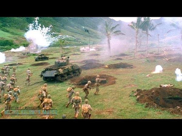Windtalkers |2002| All Battle Scenes [Edited] (WWII June 15, 1944)