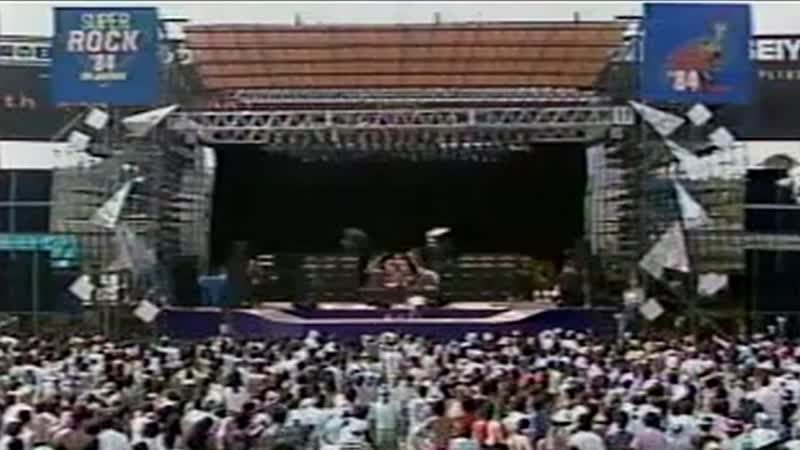 Scorpions Coast To Coast Live at Seibu Stadium in Tokyo Japan August 11th 1984