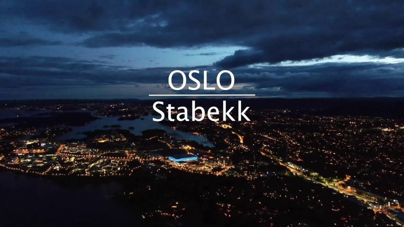 OSLO Stabekk night flight (Norway) Dji Mavic 2 zoom 4k