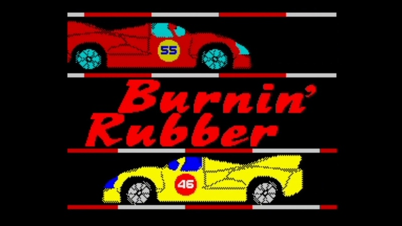 ZX Spectrum 128k Burnin' Rubber Demo 2020