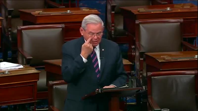 Senator Menendez get choked up before he closes the successful Senate vote recognizing the ArmenianGenocide