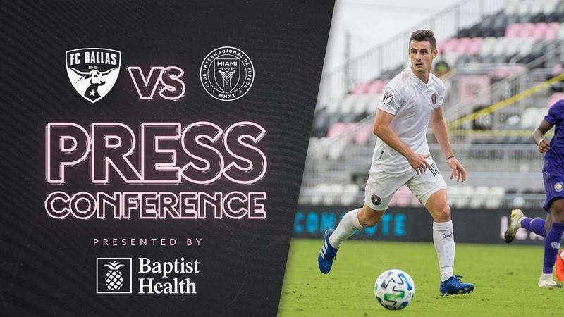 Dylan Nealis pregame press conference vs FC Dallas