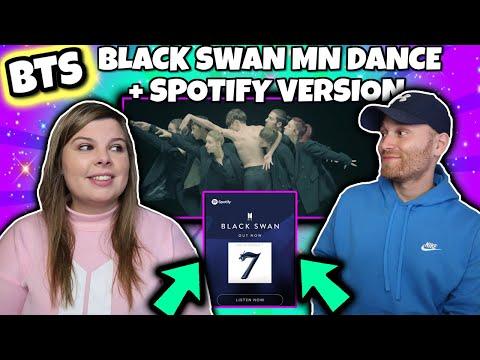 BTS (방탄소년단) Black Swan Art Film performed by MN Dance Company Spotify Version Reaction