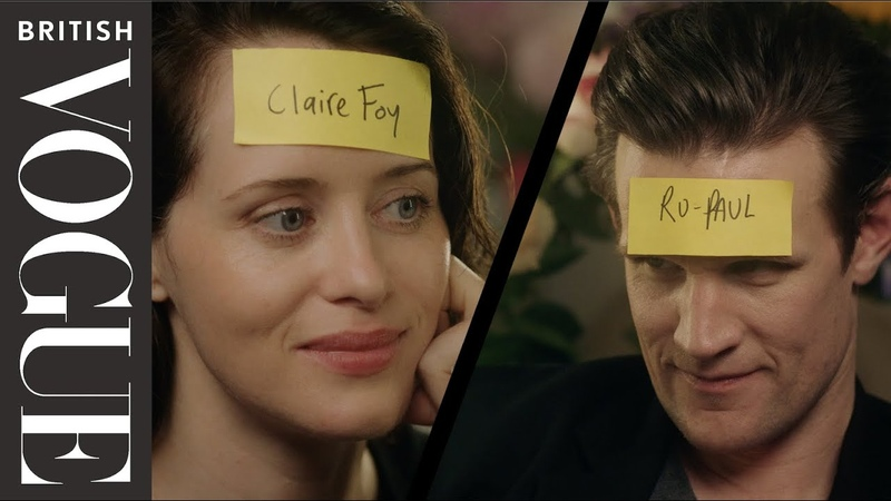 Claire Foy and Matt Smith Play Who Am I? | British Vogue