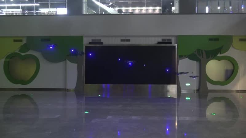 РоботМода Дроны Шоу Indoor Шоу Дронов на ваше Мероприятие! Заказ-Аренда Робот Мода droneshow robotmoda www.robotmoda.ru