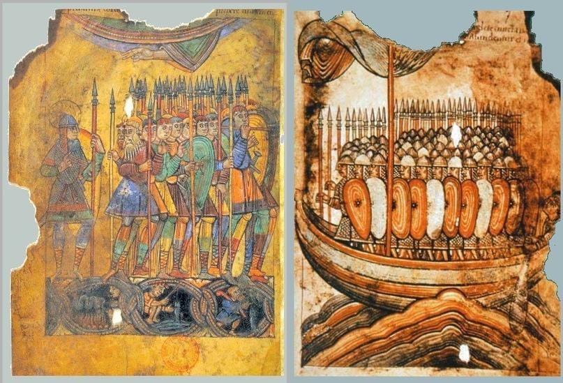 Армии викингов.