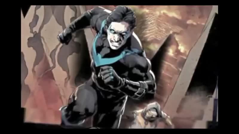 Dick Grayson   Zatanna vine