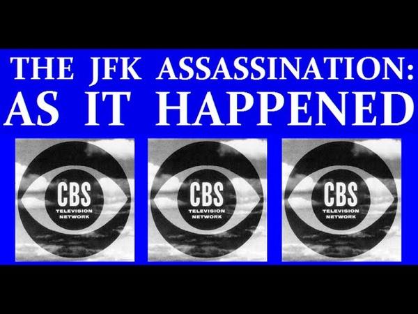 JFK'S ASSASSINATION CBS TV PART 1