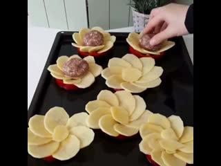 housewife_hack - идея вкусного и красивого ужина