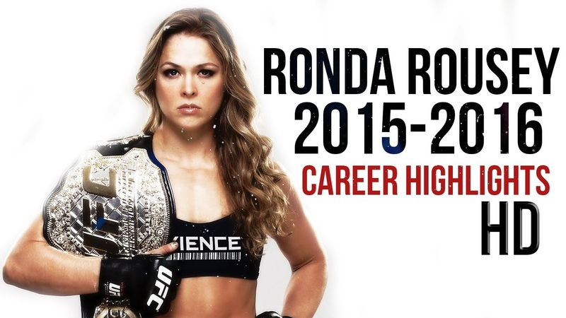 Ultimate Ronda Rousey Highlights HD The Arm Collector