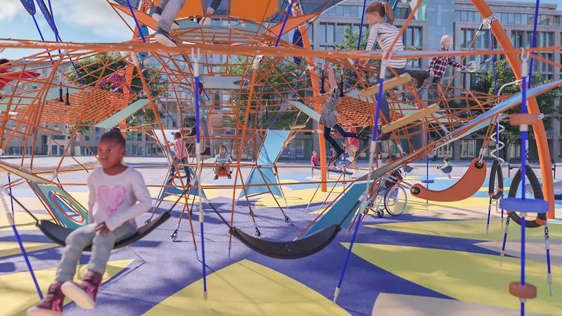 Every angle of COROCORD Giant Dome - KOMPAN Playgrounds