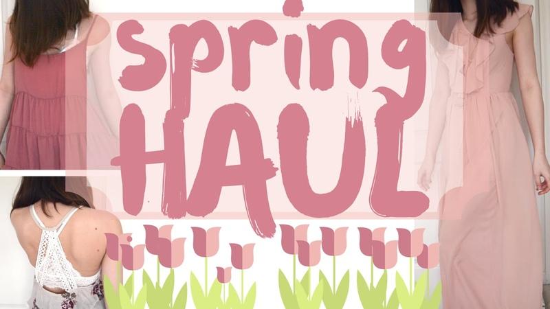 Spring Try On Haul 2016 ❀ Brandy Melville, AF, F21, AE