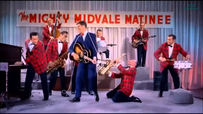 Jerry Lewis - Rock N' Roll (Scene From Rock a Bye Baby 1958)[HQ Vídeo]