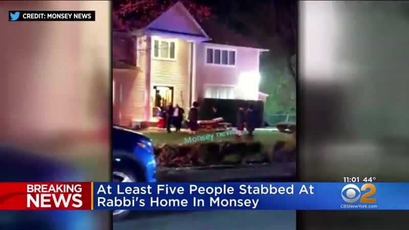 Негр напал с ножом на ортодоксальных иудеев в пригороде Нью-Йорка Монси (на 29 декабря 2019)