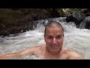 Una ducha en el río Costa Rica