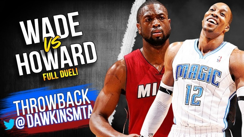 Dywane Wade vs Dwight Howard Full Duel 2012.02.08 - Flash With 33 Pts, D-12 With 25 Pts, 24 Rebs!