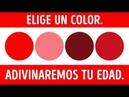 Una prueba de colores que puede revelar tu edad mental