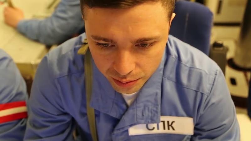 Пуск ракеты «Калибр» из подводного положения экипажем АПЛ «Северодвинск»