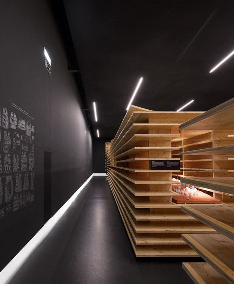 P-06's megalithic museum exhibition in Portugal is inspired by Archaeological excavations