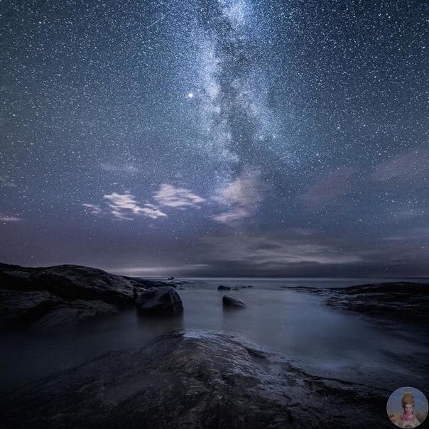 Сказочное небо Финляндии