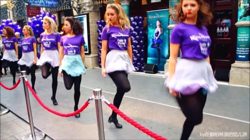 Riverdance Dance-a-thon for Cystic Fibrosis at Gaiety Theatre - Part 1 Anna Livia