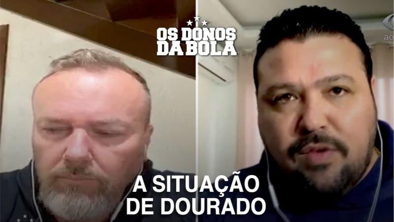 Baldasso diz que Dourado joga em qualquer time no Brasil e Bagé responde de quem ele tá falando