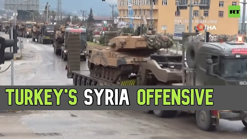 Pot is stirring Turkey moves military equipment to Syrian border