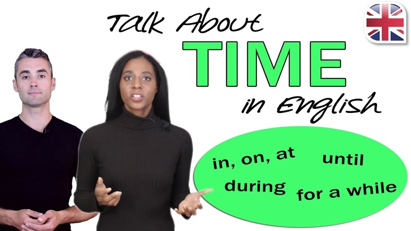 Видео How to Talk About Time in English - Time Prepositions and Phrases смотреть онлайн