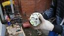 Разбор/сбор, съём прижимной пластины, муфты компрессора кондиционера, замена уплотнительной резинки