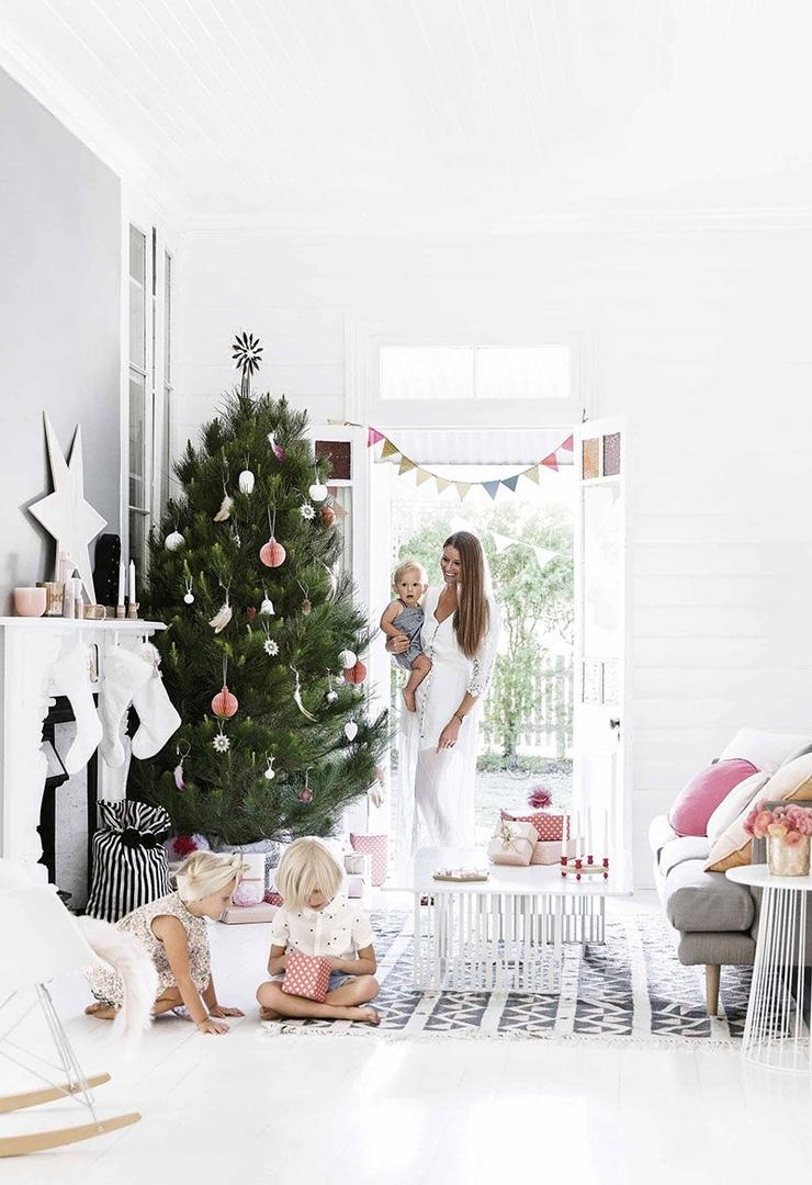 Рождество летом: праздничная атмосфера в коттедже у моря в Австралии
