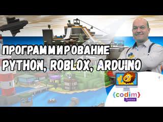 Программирование для детей 9+. #roblox, #python, #arduino