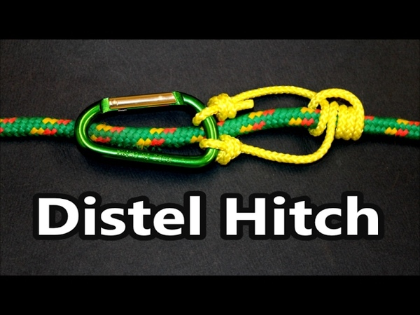 The Distel hitch (knot) in details | Popular Climbing Knots | Do it right