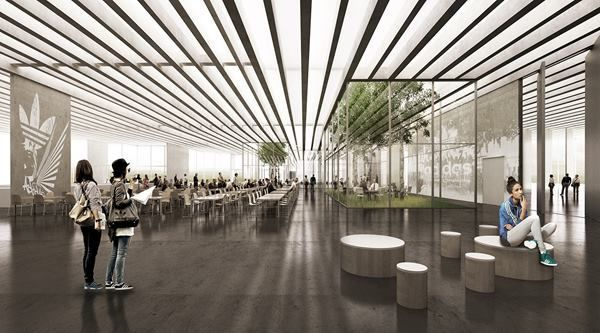 Adidas Selects COBE to Design «Rhombus-Shaped» Flagship Building in Germany