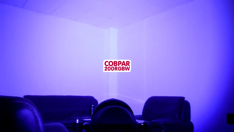 LED COB PAR 200 RGBW Outdoor