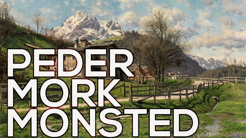 Peder Mørk Mønsted: A collection of 284 paintings (HD)