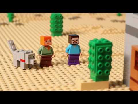 Bela 10392 My World 'Пустынная станция' аналог LEGO Minecraft 21121 online video cutter com
