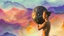 Hang Drum Tabla Flute Music Mystical Yoga Music Relaxing Music with Bird Sounds Rain