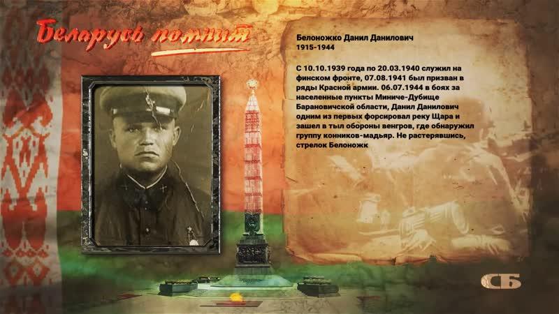 Belonoghko Danil Danilovich
