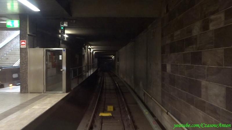 Метро в Нюрнберге линия U2 поезд без машиниста Metro w Norymberdze linia U2 bez maszynisty