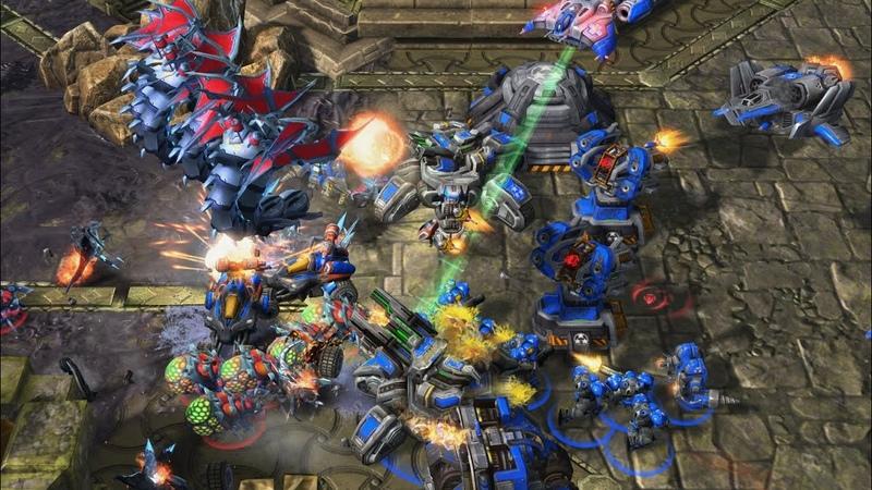 GM - Baeyang (T) v Railgan (Z) on Zen - StarCraft 2 - 2020