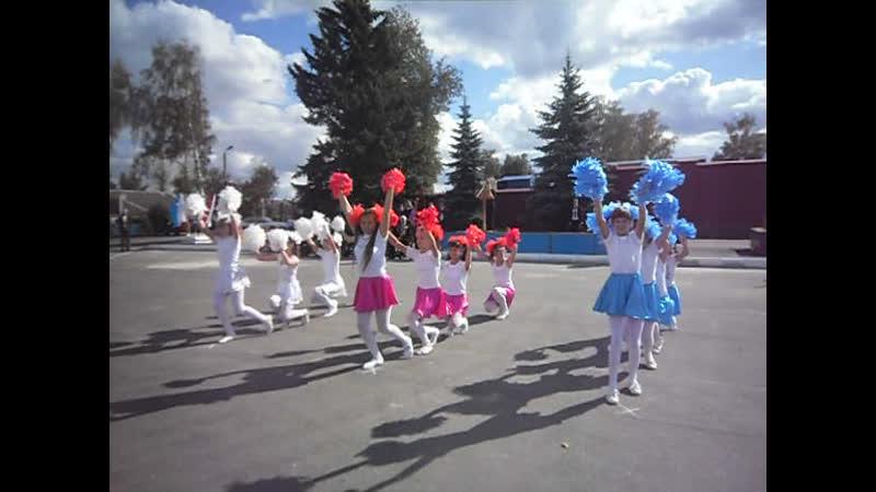 Архив-2012 .17 сентября танец Белый, синий, красный