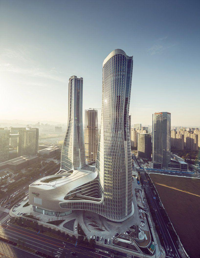 Отель в Китае / UNStudio