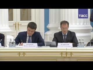 Путин проводит заседание Совета по русскому языку