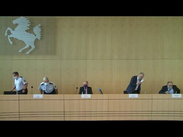Nach Gewaltnacht gegen Beamte in Stuttgart Polizei gibt Festnahmen bekannt