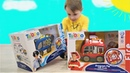 Программируемая пожарная и полицейская машины Видео про машинки Игрушки для мальчиков