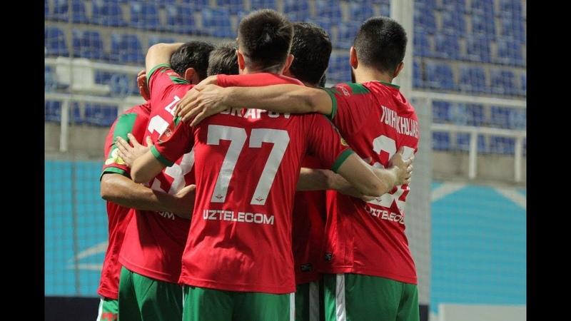 Lokomotiv Buxoro 2 0 O'yin sharhi 19 10 2019