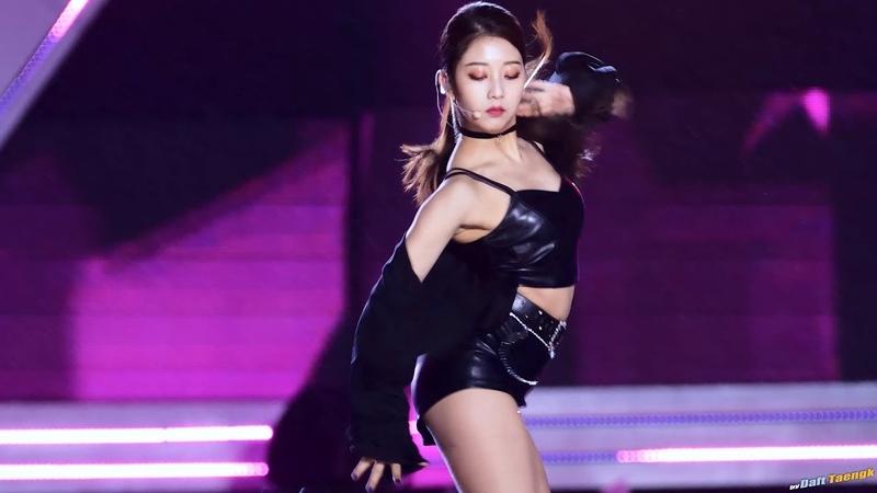 180404 승연 Seungyeon 씨엘씨 CLC 'BLACK DRESS' @울산 쇼챔피언 4K 60P 직캠 by DaftTaengk