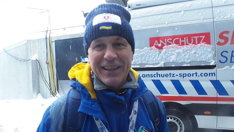 Биатлон Хохфильцен 2019 Валерий Лесников о предстоящей спринтерской гонке и состоянии команды
