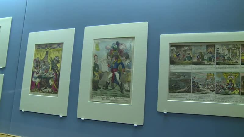 Napoleon skewered by cartoonists in British exhibition