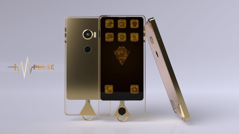 The IMpulse K1 phone (plus 15,428 KSB kryptonized gold coins)